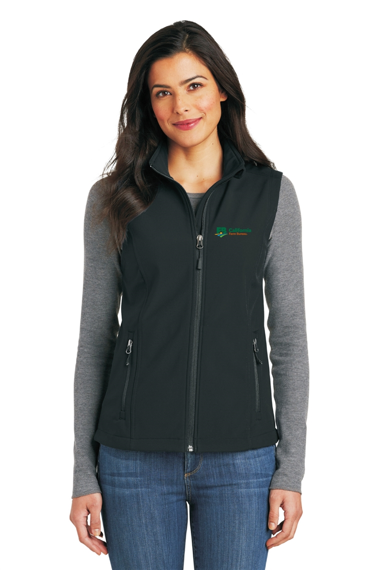 Picture of Ladies Core Soft Shell Vest